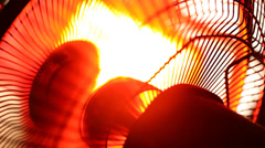 Industrial Fan in motion Stock Footage