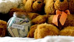 Big dreams money Stock Footage