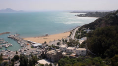 Sidi Bou Said - stock footage