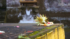 Gunung kawi temple in Bali, Indonesia, Asia Stock Footage