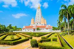 Thai temple chonburi Stock Photos