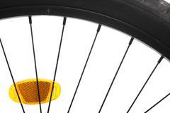 bicycle spokes - stock photo