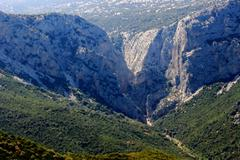 Su Gorroppu overview - Sardegna/Italia - stock photo