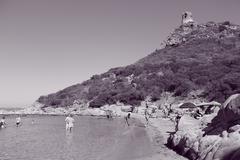 Notteri bay - Villasimius/Sardegna/Italia - stock photo