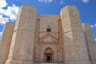 Stock Photo of castel del monte, apulia, italy. the octagonal fortress of emperor frederick