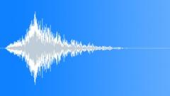 Deep quick whoosh - sound effect