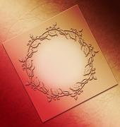Ornament background design resource - stock photo