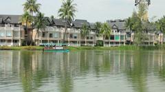 Laguna Hotels, Phuket Stock Footage