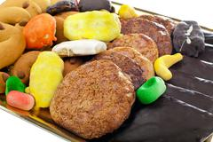 Stock Photo of Mix of pastries and cookies