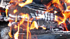 Beautiful fire  Stock Footage