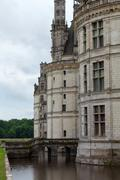 castle of chambord in cher valley, france - stock photo