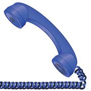 old telephone - stock illustration