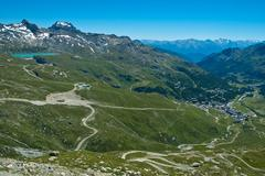 Breuil Cervinia - Aosta Valley Stock Photos