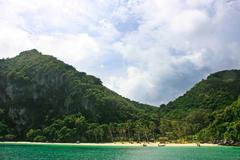 Wua talab island, ang thong national marine park, thailand Stock Photos