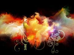 Advance of Design Nebulae - stock illustration