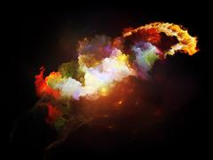 Stock Illustration of Cool Design Nebulae