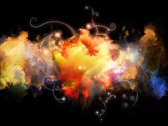 Stock Illustration of Petals of Design Nebulae