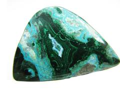 Chrysocolla abstract texture geological mineral Stock Photos