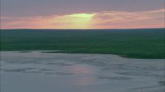 Grasslands Plain Prairie Stock Footage