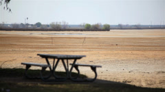 Drought Effect In California Stock Footage