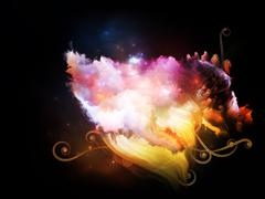 Petals of Design Nebulae - stock illustration