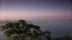Panoramic. Rio de Janeiro . Brazil Stock Footage