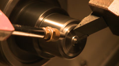 Inching machine, working on metal parts Stock Footage
