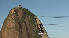 Pan de Azucar. Rio de Janeiro. Brazil Stock Footage