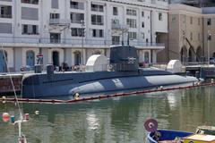 Italian navy nazario sauro class submarine Kuvituskuvat