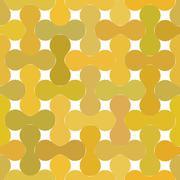 Metaball pattern Stock Illustration