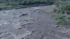 Grassland Stream Stock Footage