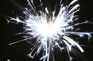 Stock Photo of holiday sparkler