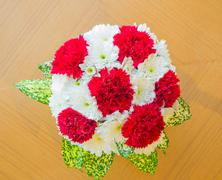 Stock Photo of Carnation bouquet