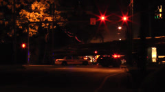 Emergency Traffic Scene #2 Stock Footage