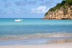 Dickenson Bay, Antigua Stock Photos