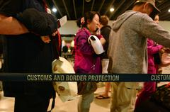 Australian customs and border protection service Stock Photos