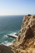 Sandstone cliffs - stock photo
