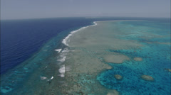 Ocean Sea Reef Islands Stock Footage