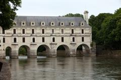 Castle of chenonceau. known as the castle of the ladies was built in 1513  an Stock Photos