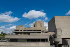 National Theatre London Stock Photos