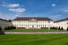 Schloss Bellevue Berlin Stock Photos