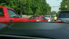 4K Stuck in Traffic 4322 Stock Footage