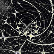 Magic Spiderweb - stock photo