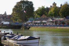 Arundel riverside. Sussex. UK - stock photo