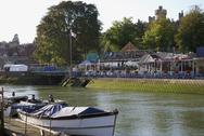 Stock Photo of Arundel riverside. Sussex. UK