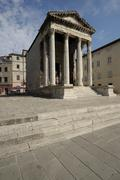 Stock Photo of Temple of Augustus (Pula)