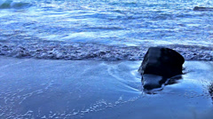 Close-up of shoreline - stock footage
