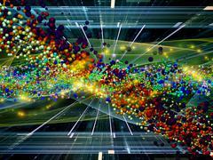 Atomic Burst - stock illustration