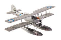 Seaplane model Stock Photos