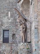Sacra di San Michele abbey - stock photo